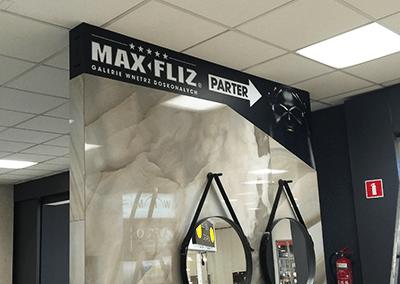 konstrukcja reklamowa max fliz domar