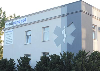 Mediconcept szyldy i materialy