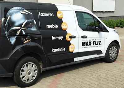 Max-Fliz oklejanie pojazdów